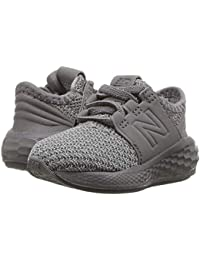 [new balance(ニューバランス)] キッズサンダル?靴 KVCRZv2I Nubuck (Infant/Toddler) Team Away Grey/Castlerock 8.5 Toddler (15.5cm) M