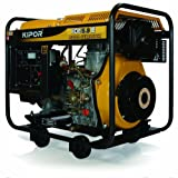 KIPOR ディーゼルエンジン発電機 KDE5.0E(50Hzモデル) 東日本地域専用