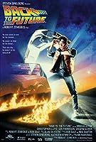 """Back to the Future–映画ポスター/印刷レギュラースタイル(サイズ: 24"""" x 36"""" ) 24"""" Black Poster Hanger"""