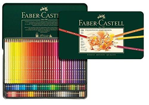 ファーバーカステル ポリクロモス色鉛筆120色セット
