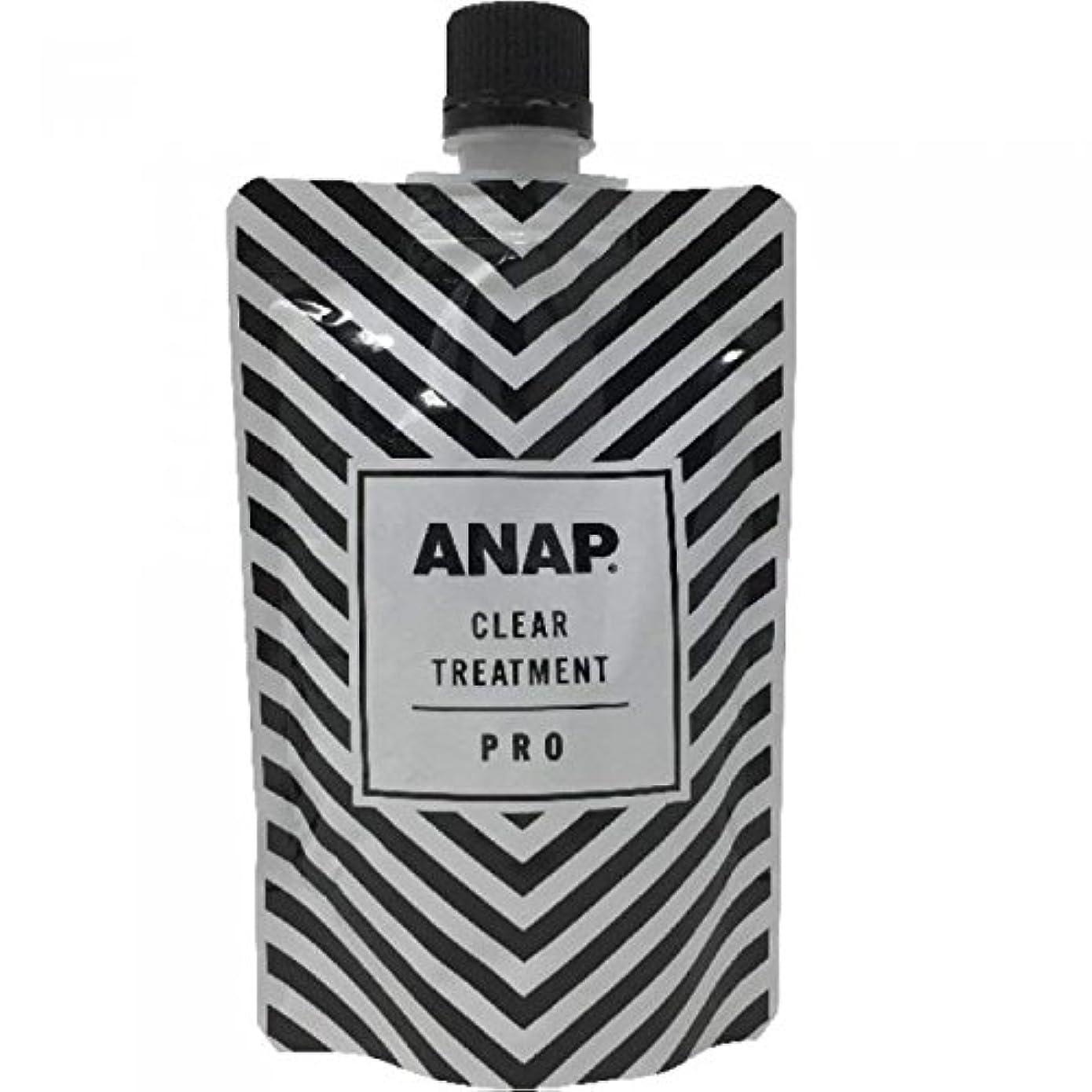 フェッチ古くなった拷問ANAP カラートリートメント パウチ クリア 150g