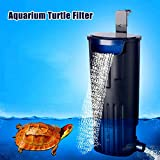 FairOnly Waterfall Turtle Fish Tank Filter 5W Oxygen Pump Built-in Low Water Level Aquarium Supply Creative Lifestyle
