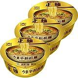 マルちゃん マルちゃん正麺 カップ うま辛担担麺 120g×3個