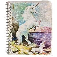 ドールハウスミニチュアSpiral Notebook W / Lined紙、ユニコーン