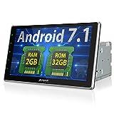 Android 7.1 カーナビ 2din 10インチ 大画面 パネル角度調節可 RAM 2GB ROM 32GB 1080P GPS Bluetooth Wifi OBD対応 18ヶ月保証