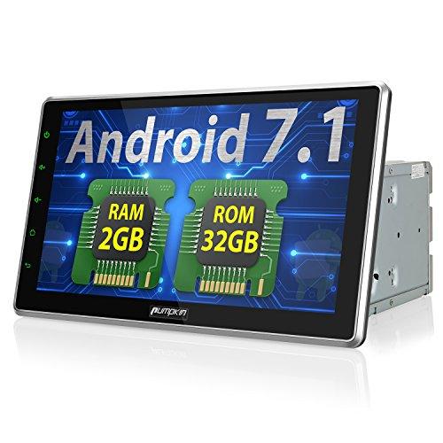 Android 7.1 カーナビ 2din 10.1インチ ...