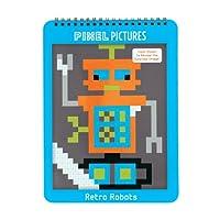 Retro Robots Pixel Pictures