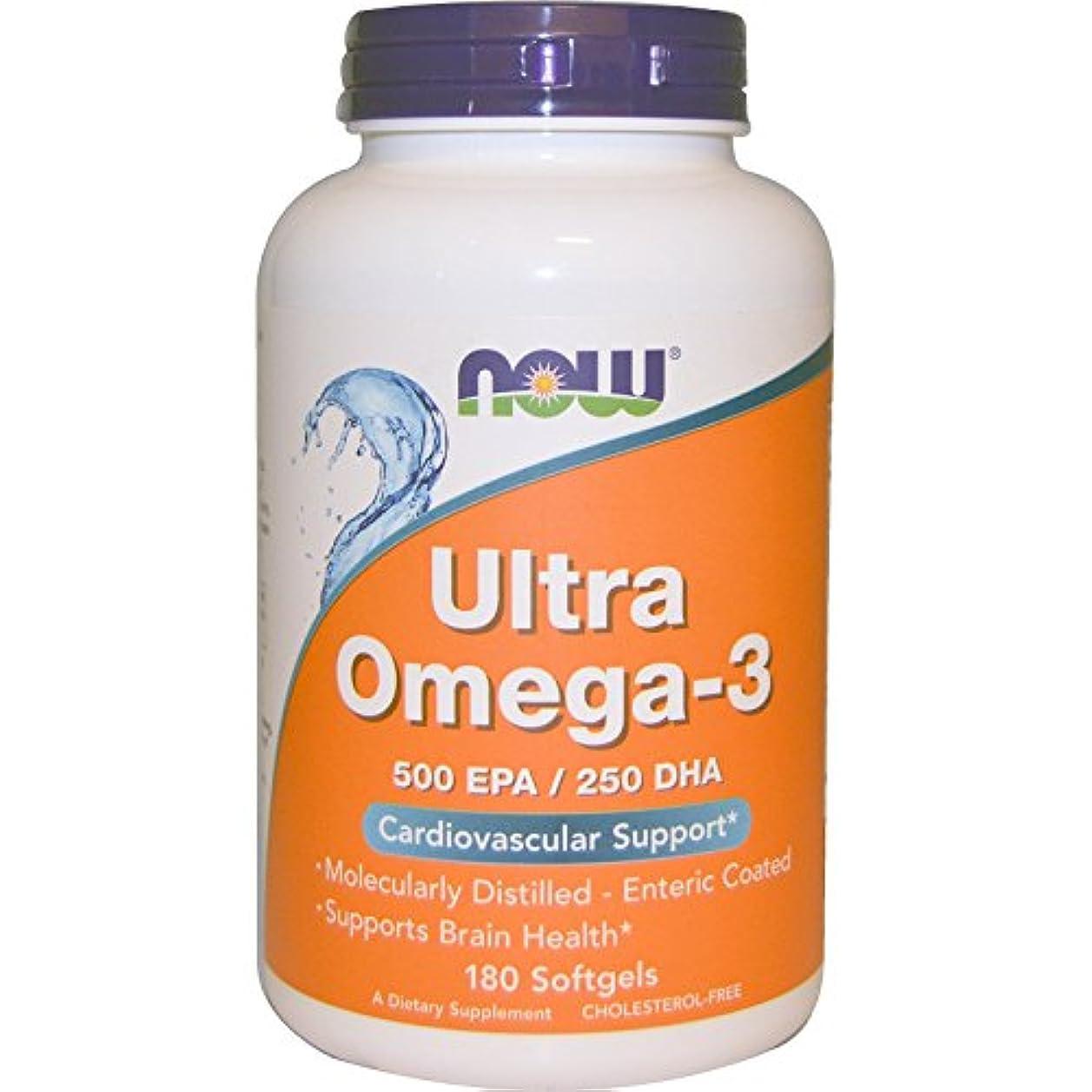 真鍮冒険配分Ultra Omega-3 180 sgels 3個パック