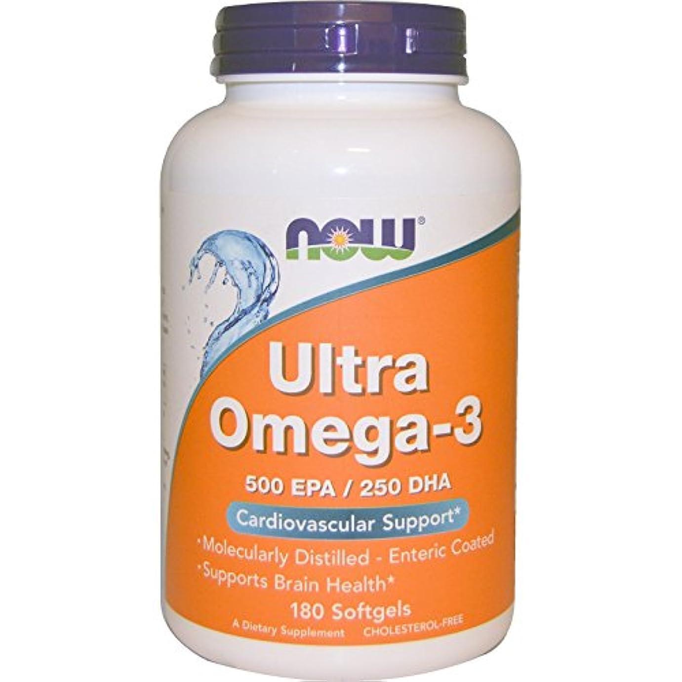 帰する症候群極めて重要なUltra Omega-3 180 sgels 3個パック