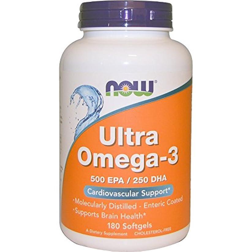 なんとなく不和め言葉Ultra Omega-3 180 sgels 3個パック