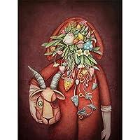 プリント絵画ポスターとプリント抽象プリント油絵キャンバス壁アート写真用リビングルームホームデコレーション