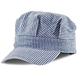 Classic Train Engineer Conductor's Adjustable Cap - Child to Adult (Child (55CM))