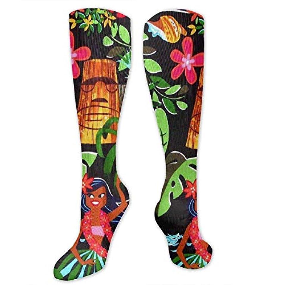 優先権仮定、想定。推測愛国的な靴下,ストッキング,野生のジョーカー,実際,秋の本質,冬必須,サマーウェア&RBXAA Aloha Hawaii Socks Women's Winter Cotton Long Tube Socks Cotton Solid...
