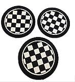 BMW MINI ドリンクコースター 3枚 セット (チェック)