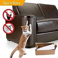 FidgetGear 反傷のソファー猫の爪の保護装置の自己接着はパッドのポストの居間を保護します