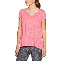 Calvin Klein Women's Pleat Back Icywash Tshirt