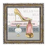 絵画 アートパネル インテリア かわいい 玄関 インテリア 玄関 マルコファビアノ フォーエバー ファッション5 MA-02027 ハイヒール 靴