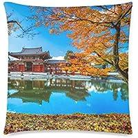 可愛い 子供 日本の京都 座布団 45cm×45cm可愛い 子供 日本の京都 座布団 45cm×45cm可愛い 子供 日本の京都 座布団 45cm×45cm
