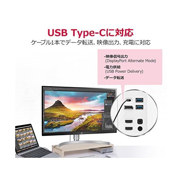 LG モニター ディスプレイ 27UK850-...の紹介画像5