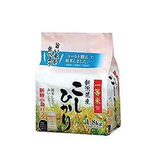 新潟県産 白米 こしひかり 1.8kg 平成30年産