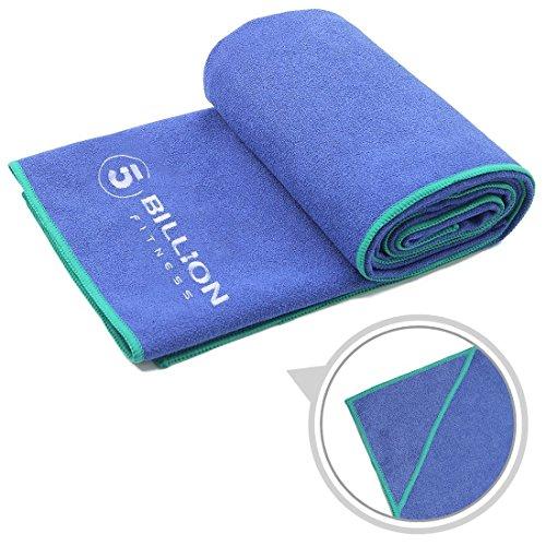 [해외]5BILLION 요가 수건 미끄럼 방지 초극세 섬유 - 183 * 61cm 핫 요가 수건 슈퍼 흡수성~ 세탁 가능~ 속건 - 무료 가방/5BILLION Yoga Towel Anti Slip Superfine Fiber - 183 * 61cm Hot Yoga Towel~ Super absorbent~ Washable~ Quick-drying - Free...