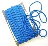 【手芸】カラーロープ(ひも)(太)ブルー(30)(★1mで108円です。10cm単位ではありません)