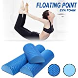 EVA Half Round Yoga Foam Roller Massage Floating Point Column For Muscle Therapy , Core Stabilization , Balance Exercises ,Physical Therapy, Rehabilitation, Body Balance, Motor Control, Mobility, and Flexibility