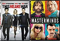 Spy Story Masterminds & This Means War DVD Double Feature Comedy Bundle [並行輸入品]