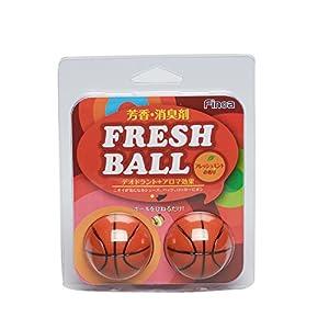 Finoa(フィノア) 芳香消臭剤 フレッシュボール バスケットボール ミントの香り 5070