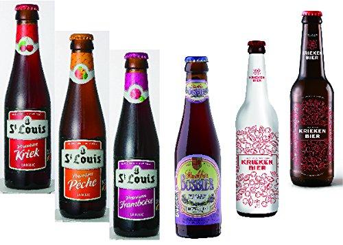[輸入 ベルギービール]フルーツビール飲み比べセット 250...