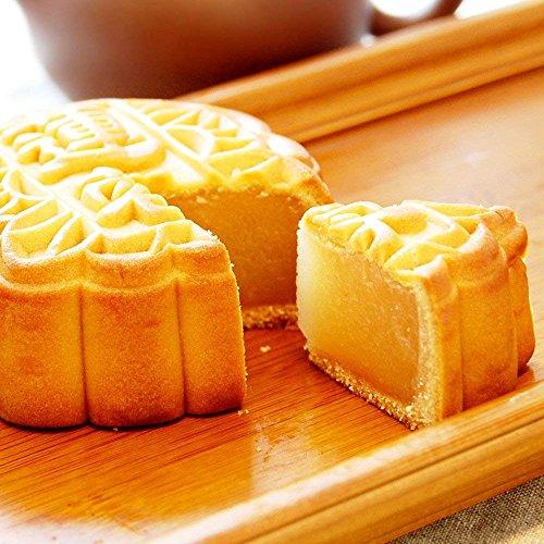 月餅 横浜中華街 老舗 手焼き大月餅 選べる6種類 1個 お菓子 中華菓子 スイーツ (蓮蓉(ハス))