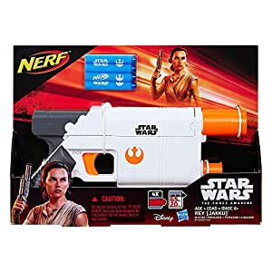 Star Wars Episode VII Nerf Rey (Jakku) Blaster ナーフスターウォーズエピソードVIIポイントレイ(Jakku)ブラスター [並行輸入品]