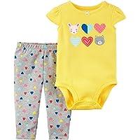 Carter's Baby Girls' 2 Piece Bodysuit and Leggings Set