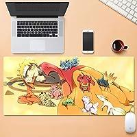 多機能肥厚大拡張マウスパッドマットプロフェッショナルアニメゲームキーボードマウスパッド滑り止めラバーベースもっと丈夫 SHWSM (Color : A, Size : 3mm)
