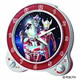 SEIKO CLOCK (セイコークロック) 「限定:円谷プロ50周年記念」ウルトラマンギンガ目覚まし時計 CQ133S