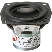 【国内正規品】Dayton Audio ND65-8  6.5cm フルレンジ 8Ω PS-SFR042