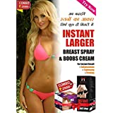 ENLARGEMENT BOOBS CREAM WITH SPRAY