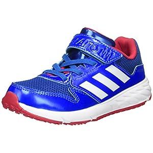 [アディダス] 運動靴 KIDS アディダスファイト EL K カレッジロイヤル/ランニングホワイト/ブルー 22.5 (現行モデル)