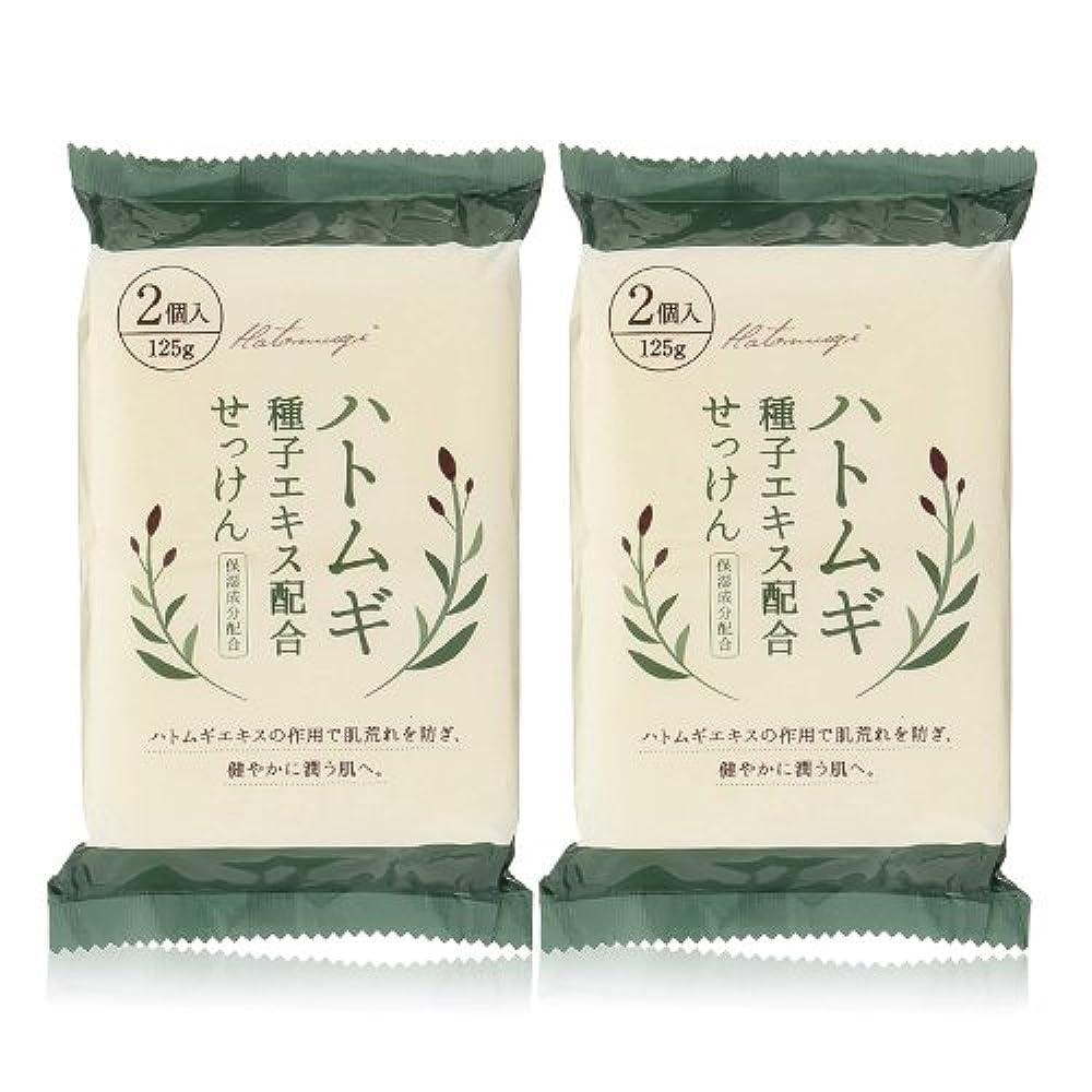 トレーニング注釈画家ハトムギ種子エキス配合石けん 125g(2コ入)×2個セット(計4個)