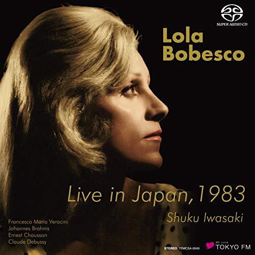 ローラ・ボベスコ 1983年東京ライヴ / ローラ・ボベスコ | 岩崎淑 (Live in Japan, 1983 / Lola Bobesco, Shuku Iwasaki) [SACDシングルレイヤー] [STEREO] [国内プレス] [日本語帯・解説付]