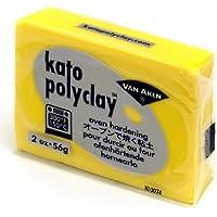 katopolyclay オーブン粘土 2オンス(56g) イエロー