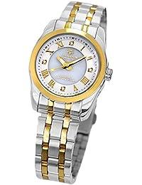 [ジョンハリソン]J.HARRISON 4石 天然ダイヤモンド レディース 女性用 ソーラー電波時計 腕時計 (17)
