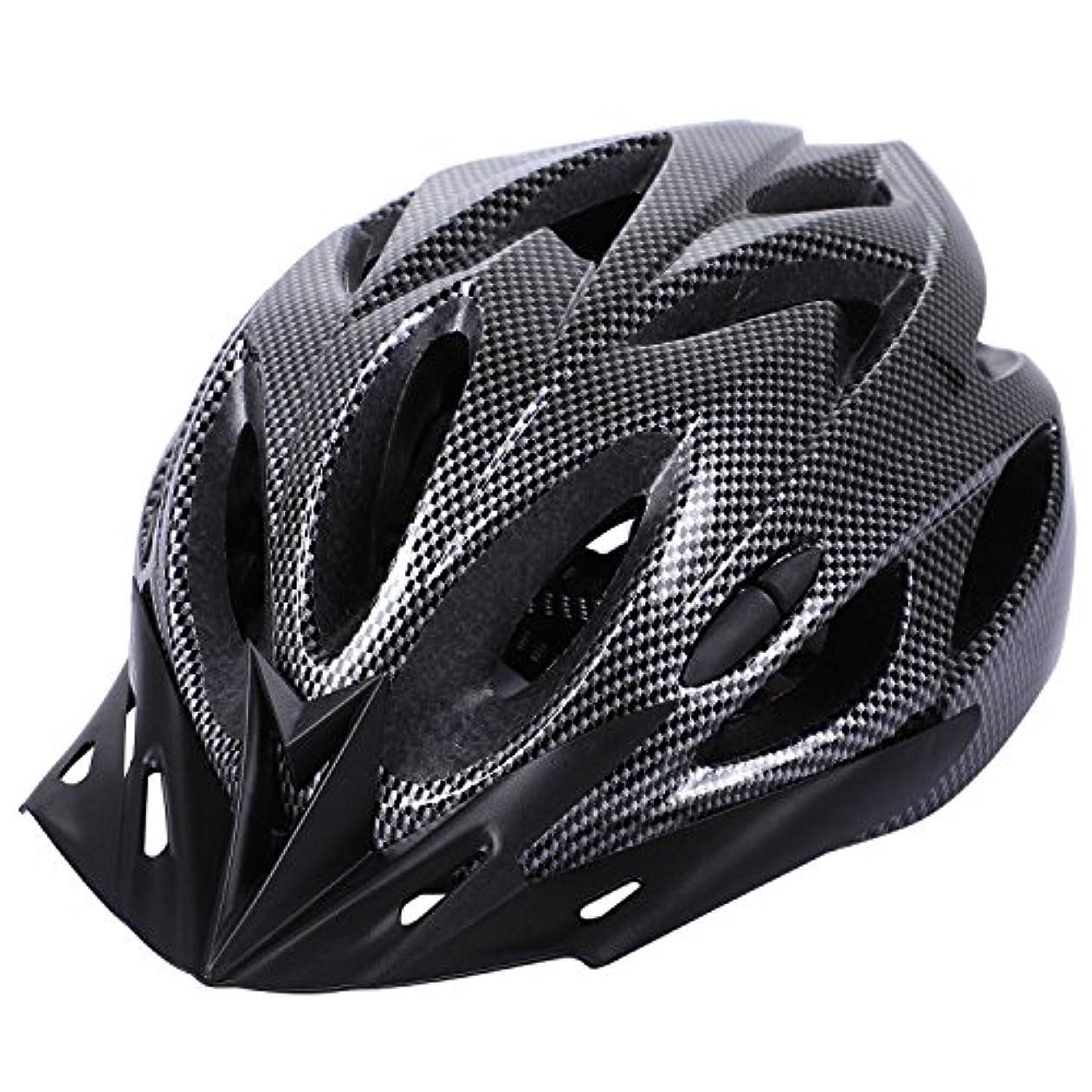 説教誘惑キリマンジャロGaoominy カーボン自転車ヘルメットバイクMTBサイクリング大人調節可能なユニセックス安全ヘルメット