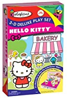 Colorforms 3D Deluxe Playset Hello Kitty Sticker Kit [Floral] [並行輸入品]