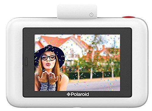 Polaroid Snap Touch - ポラロイド Snap デジタルインスタントカメラ - あのPolaroid Snapにタッチパネルモデルが登場! - データも保存できる プリンタ内蔵 ZINK フォトペーパー対応 (White ( ホワイト )) [並行輸入品]