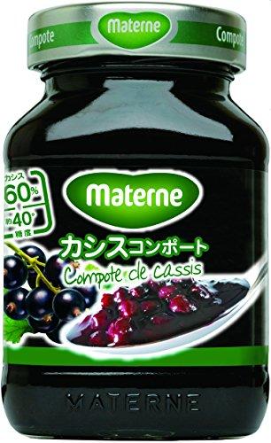Materne(マテルネ) カシスコンポート 305g