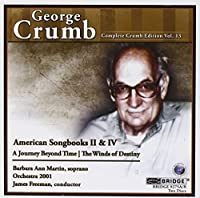 Complete Crumb Edition volume 13 by George Crumb (2008-11-11)