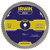 IRWIN Tools Metal-Cutting Circular Saw Blade, 10-inch, 80T (4935561)