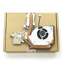 Nbparts新しい元のLenovo ThinkPad w541W540CPU冷却ファンヒートシンク04X 1895