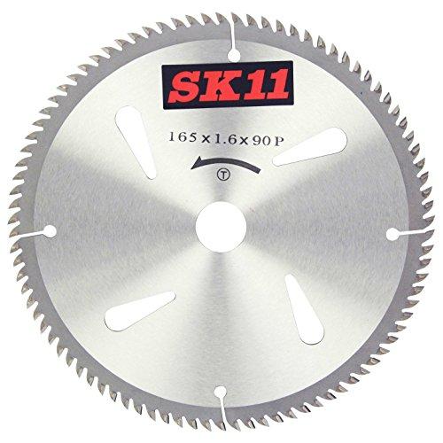 SK11 木工用 ハイパーチップソー 超仕上 165mm 165mmX90P